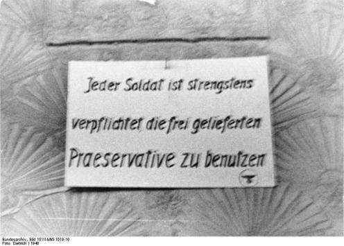Frankreich, Brest, Soldatenbordell
