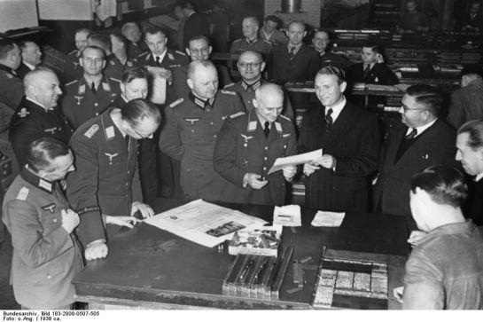 Berlin, PK-Führer beim Scherl-Verlag