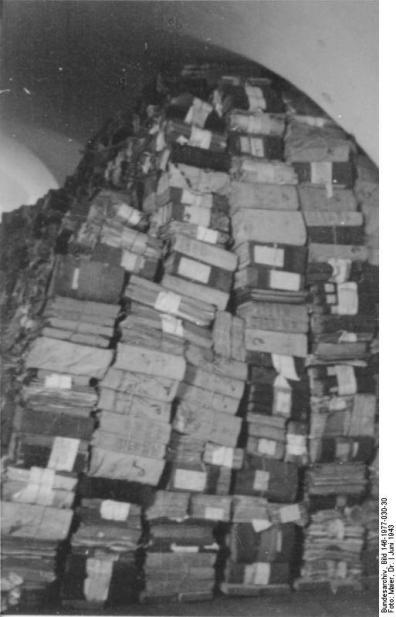 Smolensk Sichergestelltes Smolensker Archivmaterial Juni 1943 Film 89/11